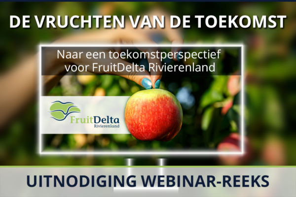 FruitDelta Rivierenland webinar reeks