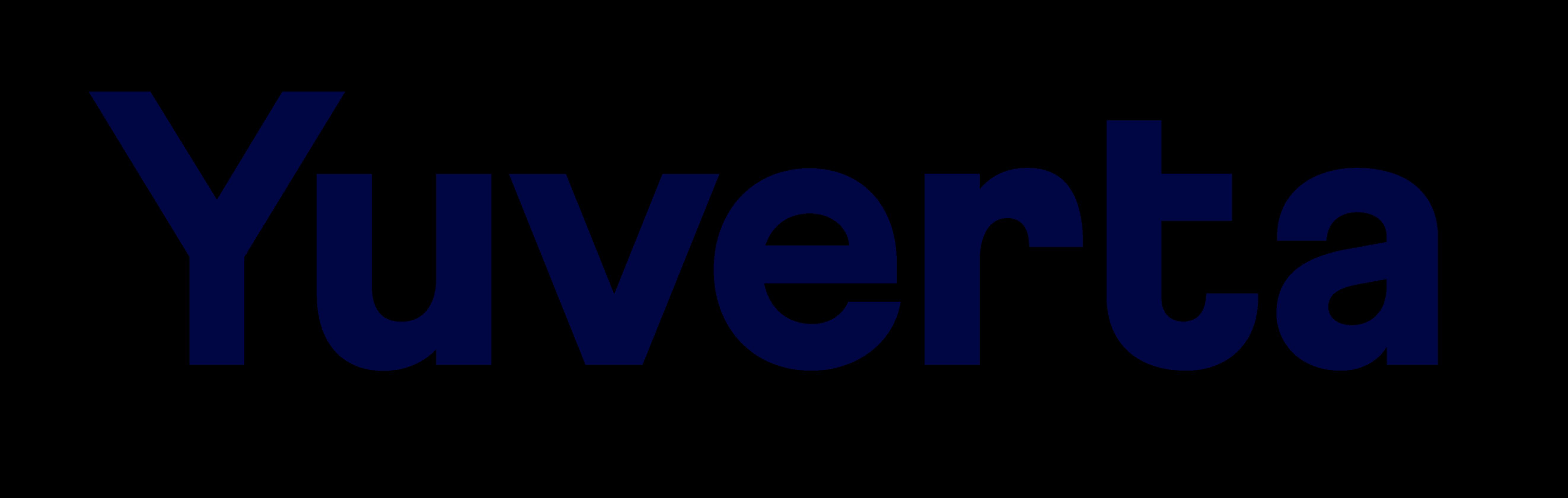 Yuverta - Logo - Donker Blauw - RGB